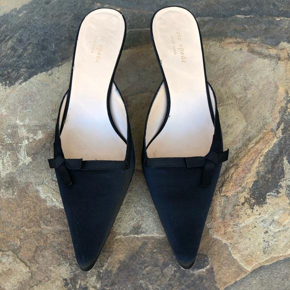 kate spade Shoes | Satin Kitten Heel